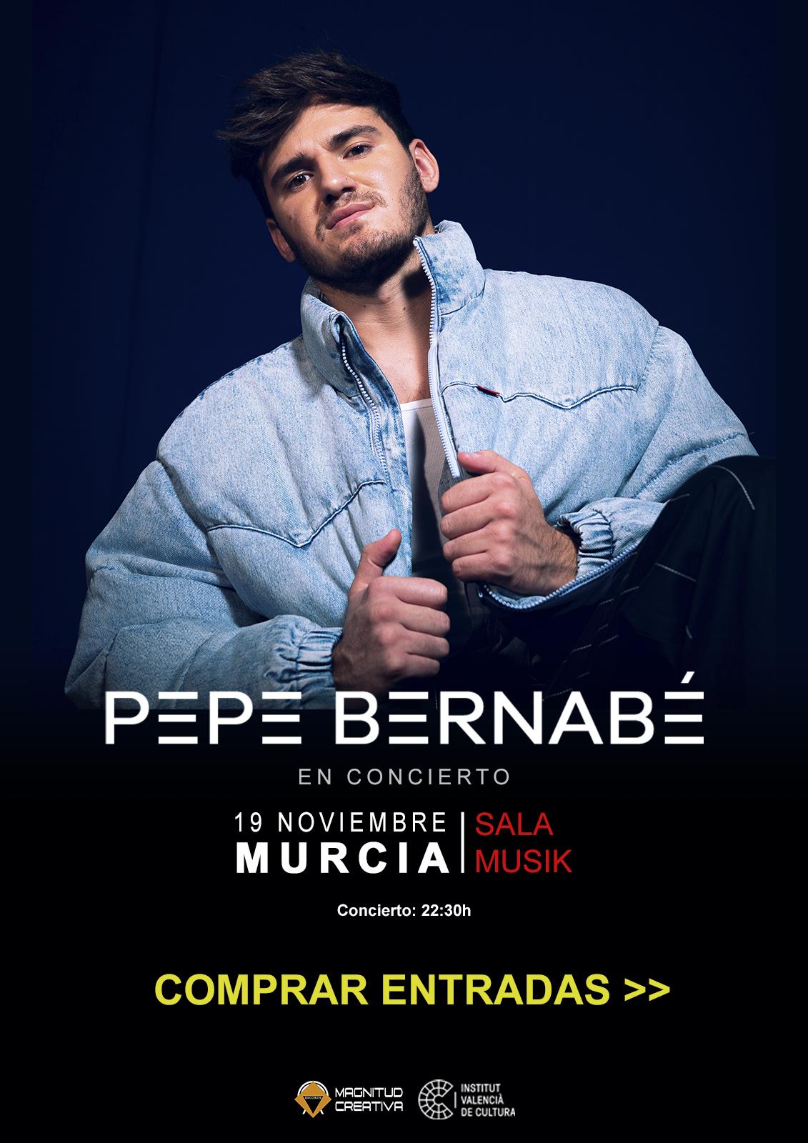 Concierto Pepe Bernabé Murcia